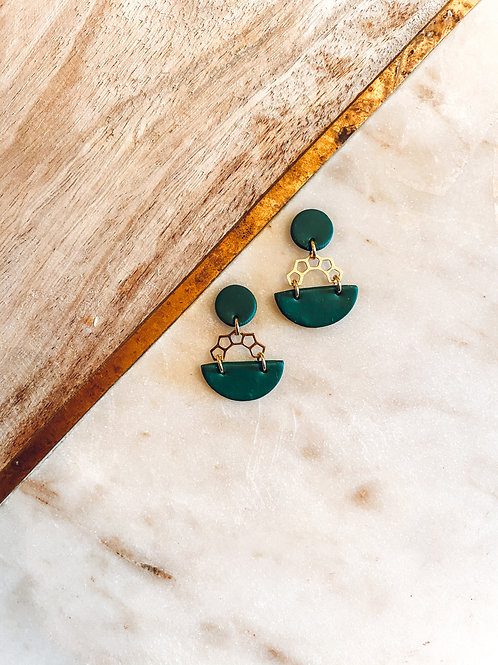 Julia | Green with Gold