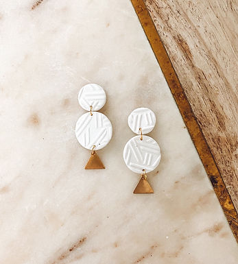 Soleil Chic | White and Gold
