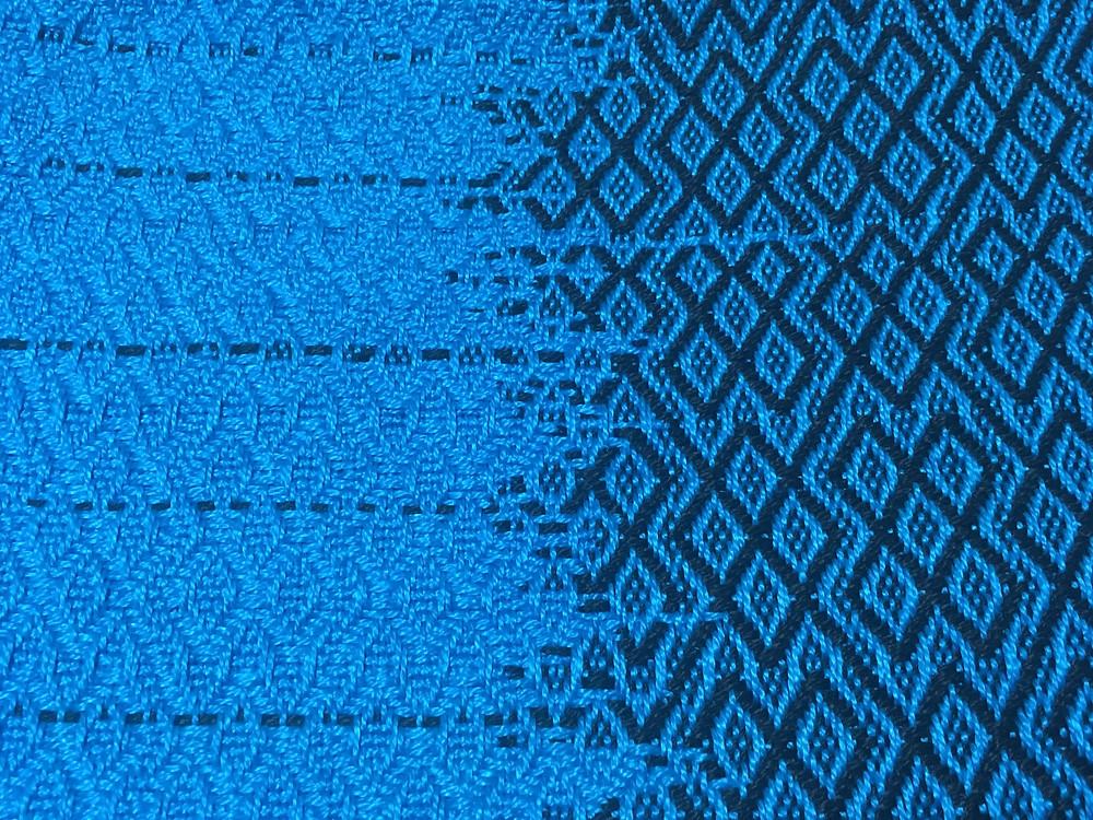 Geometric Design Drawstring Backpack