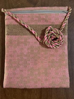 Pink & Beige Pocket Purse