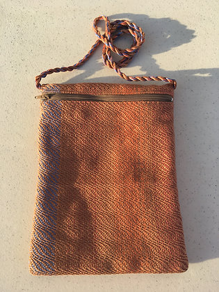Dusky Stripes Pocket Purse