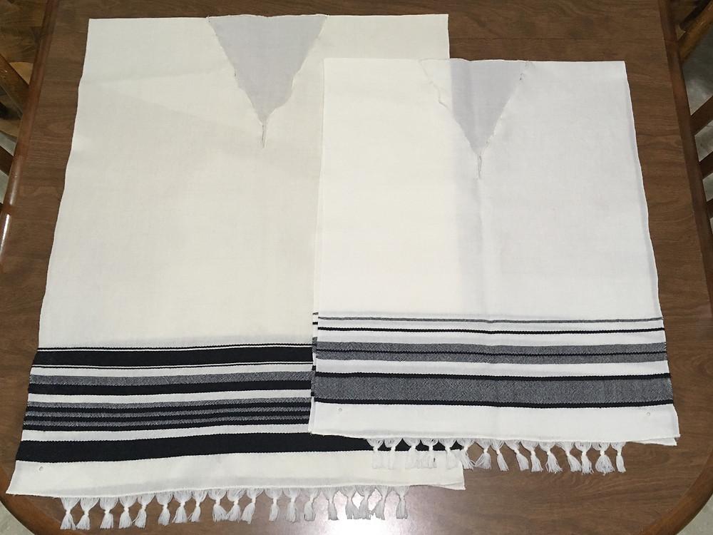 100% wool Tzitzit (Tallit Katan)