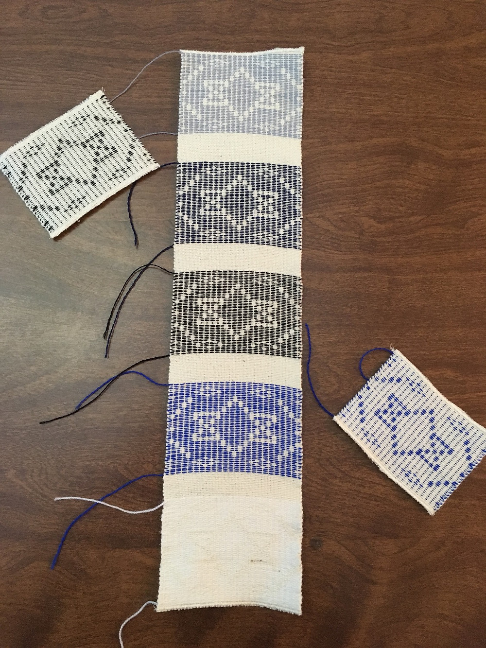 Sample strip of available colors