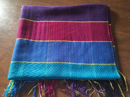 Completed Nap Blanket