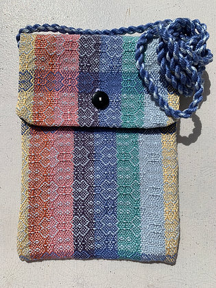 Light & Dark Blue Design Mini-Purse
