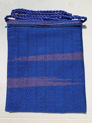 Purple & Blue Pocket Purse