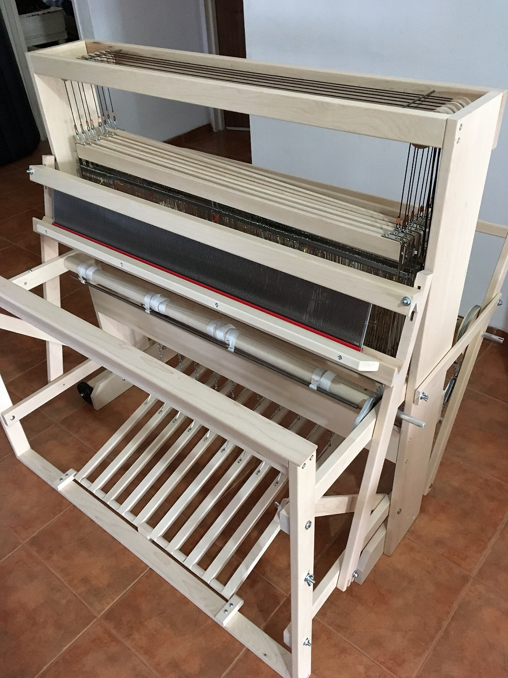 The new loom - ready for action!