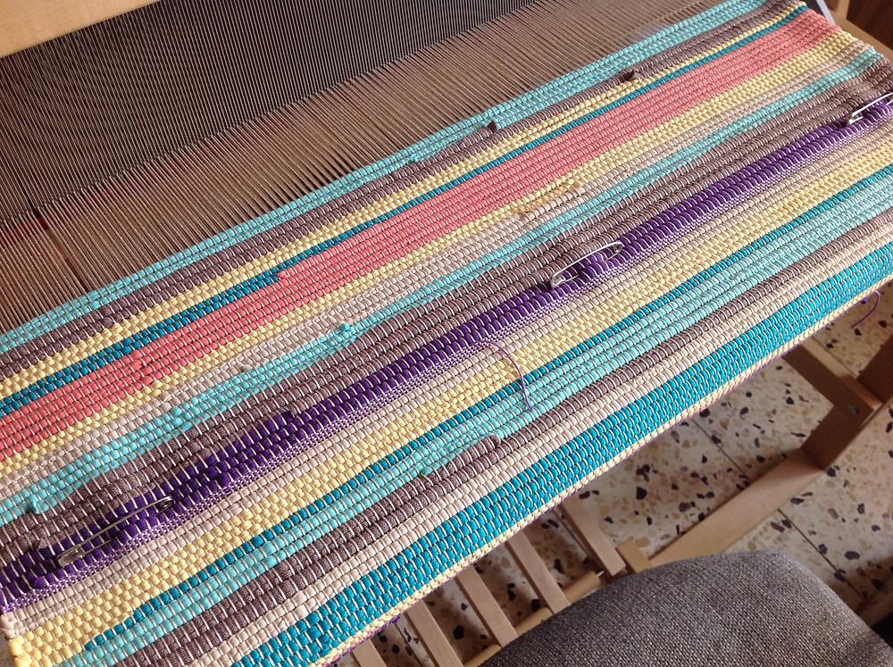 Custom throw rug