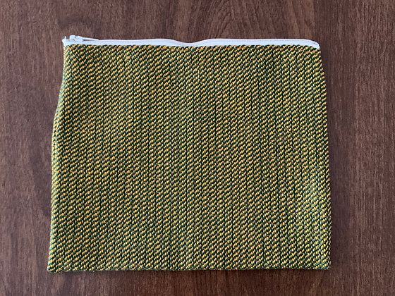 Gold & Green Pouch
