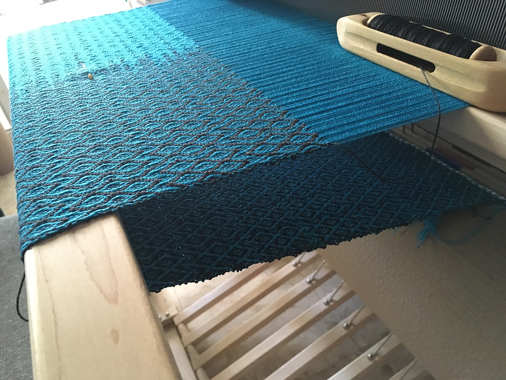 Weaving material for a Drawstring Backpack.