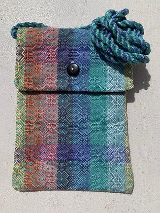 Green and Blue Design Mini-Purse