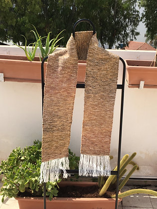 Scarf in Browns