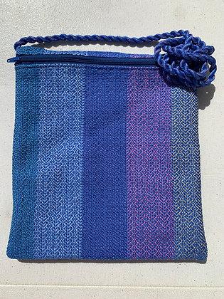 Blue Hearts Pocket Purse