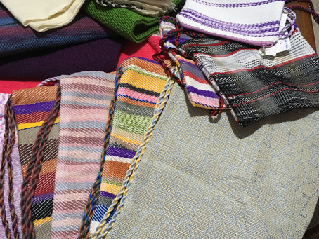 Blankets, Bags, Scarves and Tzitzit....OH MY!