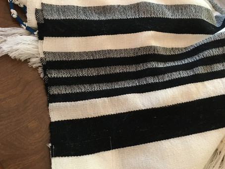 Tallit, Bags and a Baby Blanket