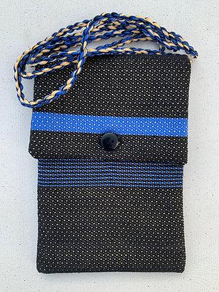 Black w/ Bright Blue Accents Mini-Purse