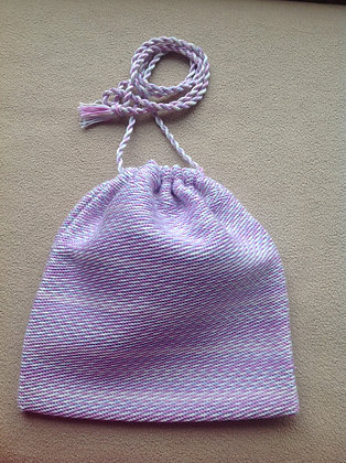 Pink, Blue and Purple Mini-Purse