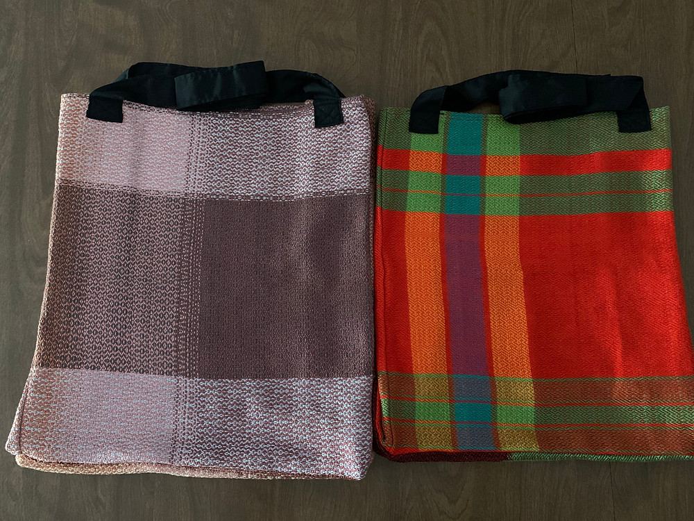Greyscale & Muted and Bright Colors Bags