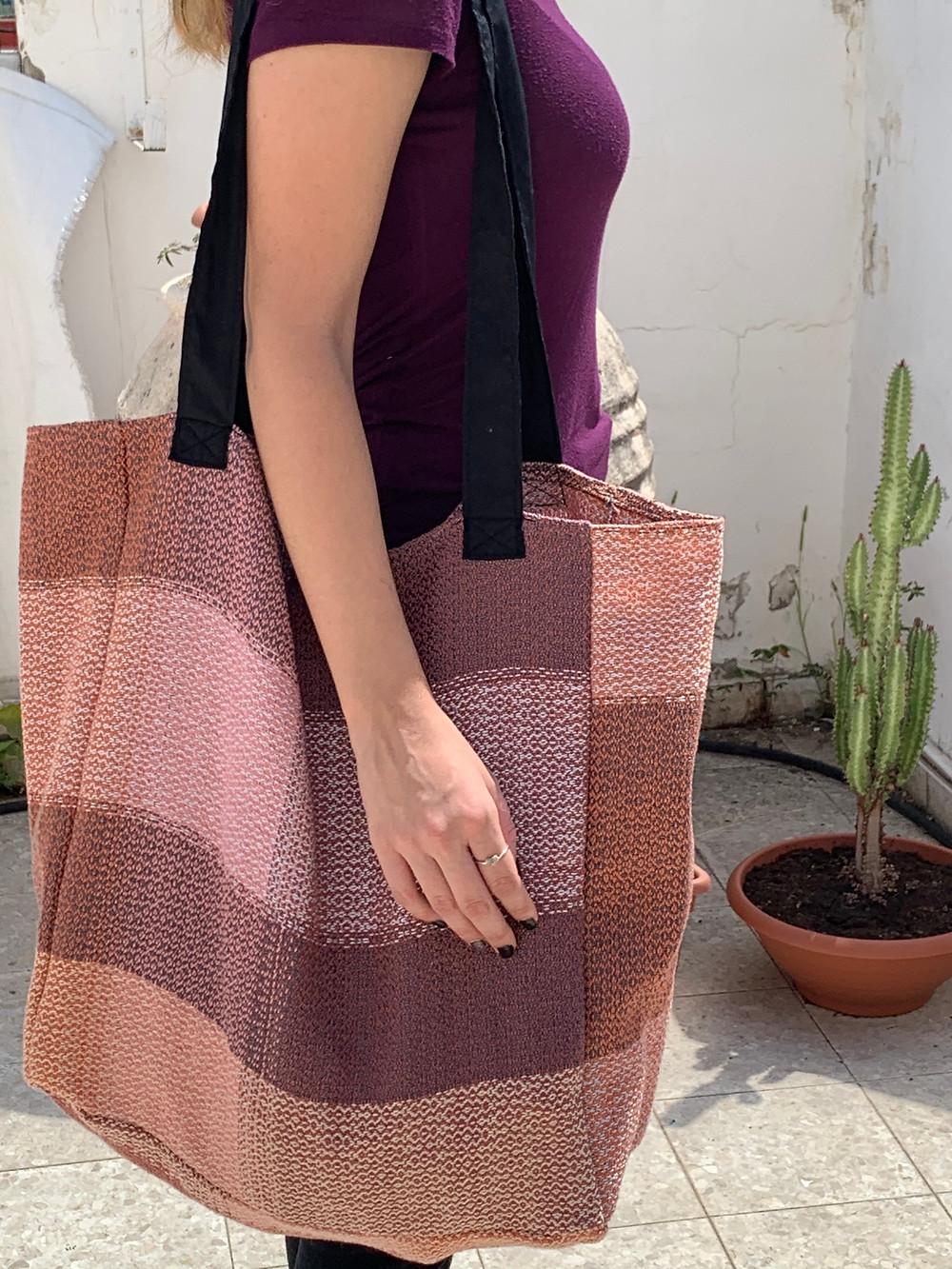 Greyscale & Muted XL Shopping Bag