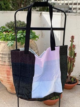 Lower Rainbow XL Shopping Bag