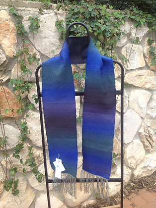 Blue, Green and Purple Scarf