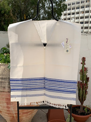 Tallit Katan #7 - Thin Wool