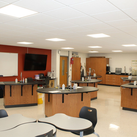 West Delaware County Community School District Chemistry Classroom Renovation