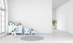 table-armchair-white-child-room-interior