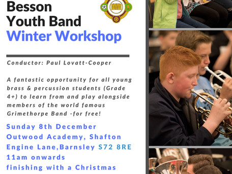 Fantastic Opportunity for Brass and Percussion Players