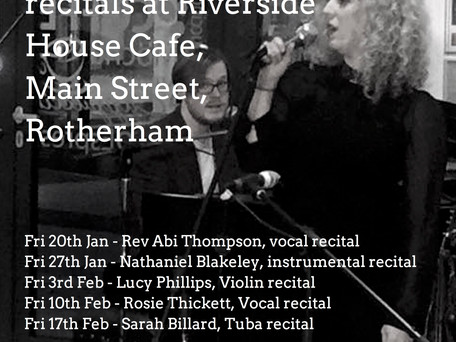 Music Recitals at Riverside House