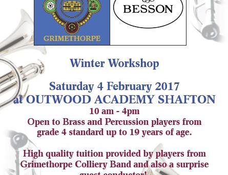 Grimethorpe Besson Youth Band Winter Workshop