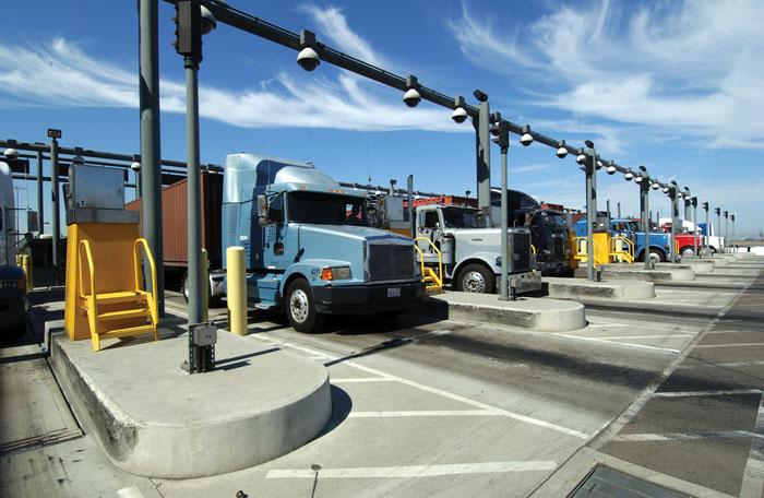 Trucks-Entering-Terminal-Gates