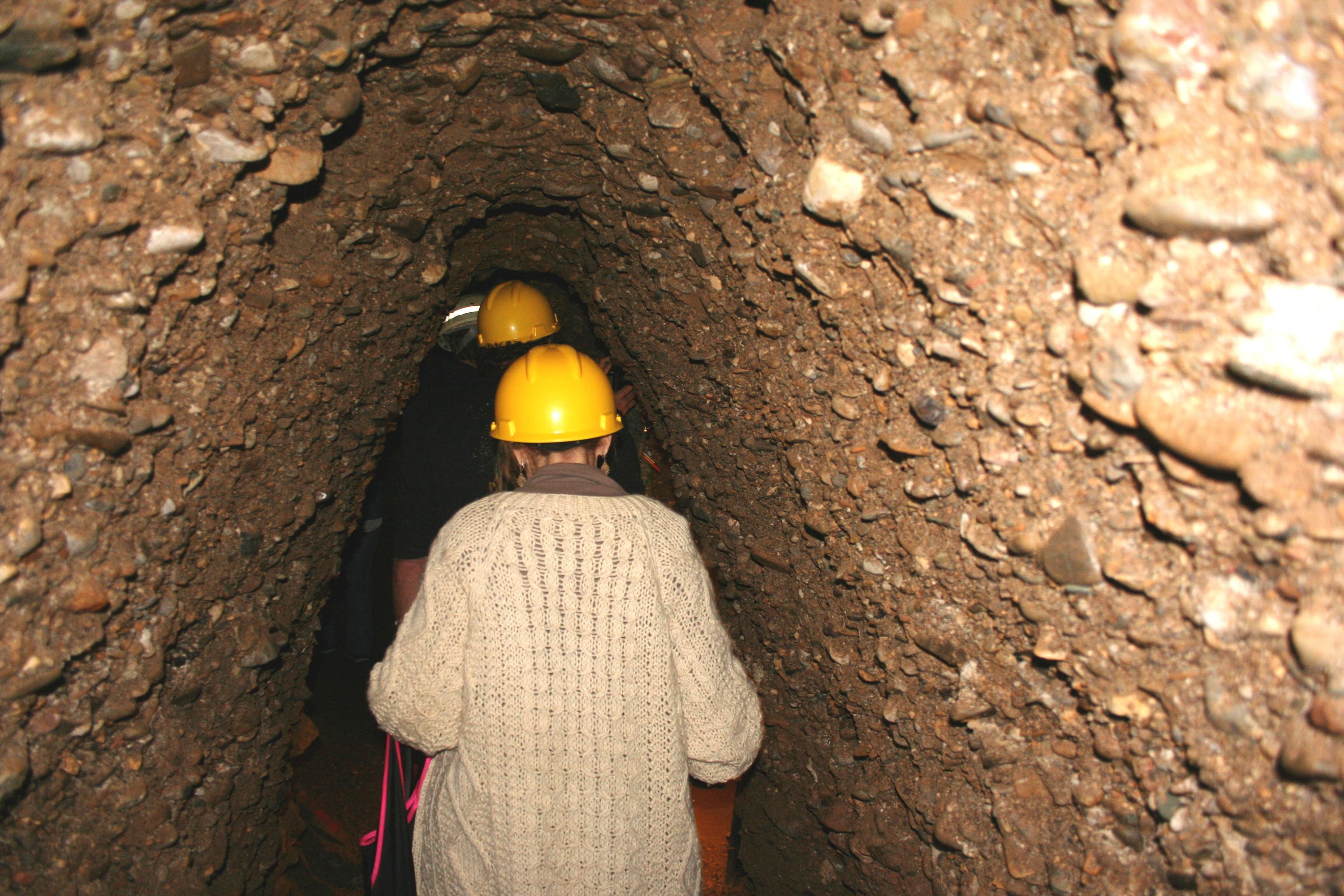 Walking in the Tunnels