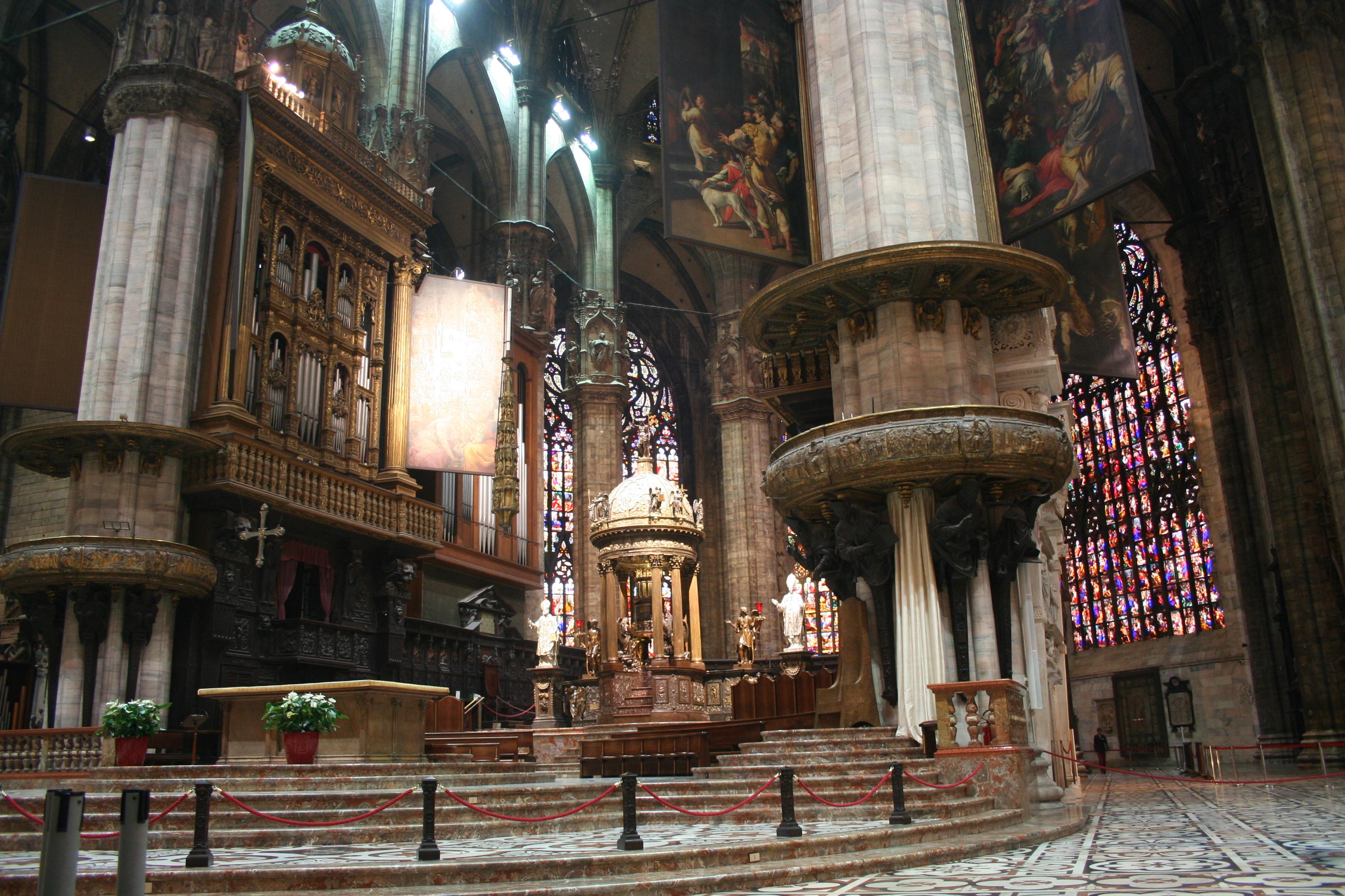 Milan Duomo Interior