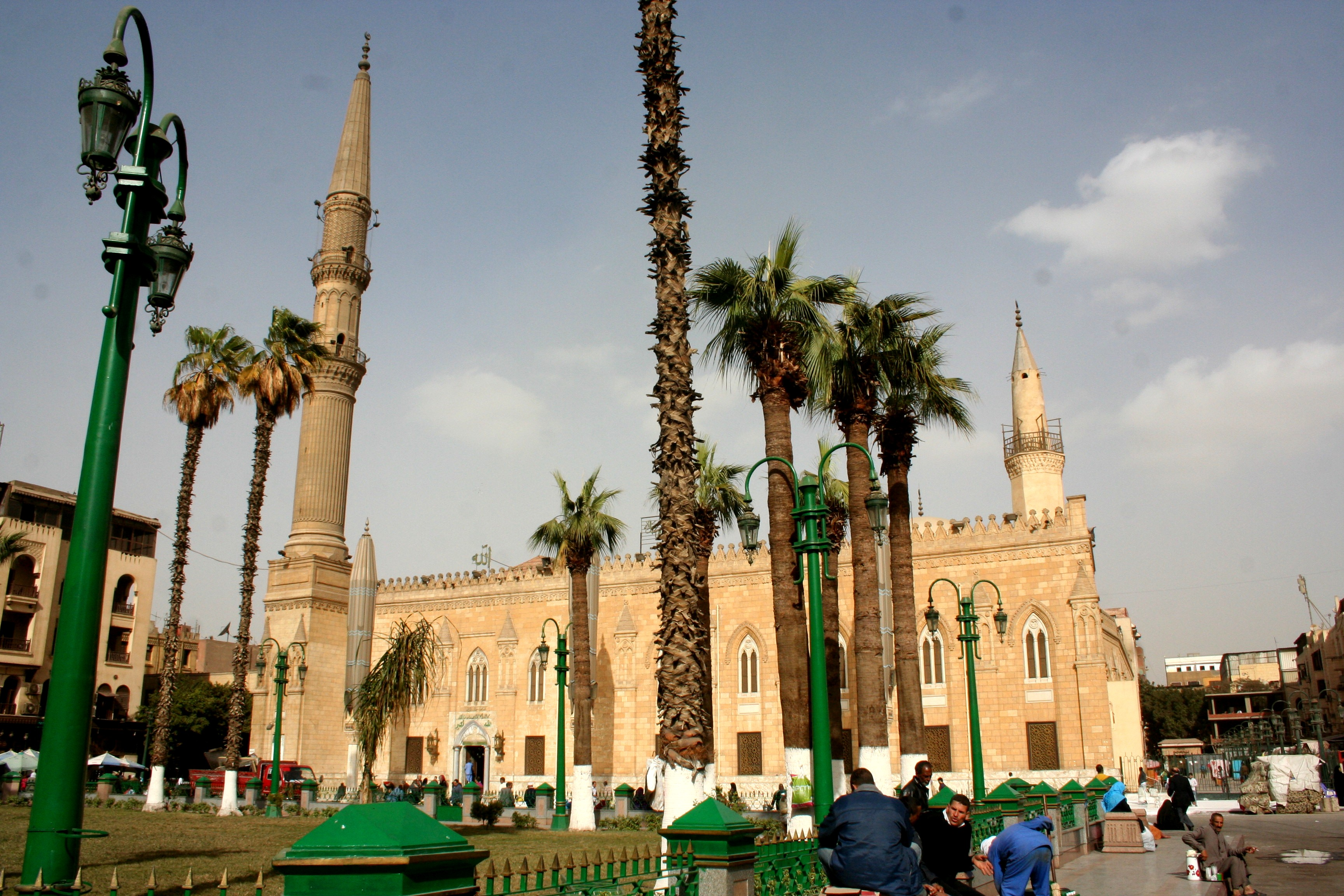 Al-Hussein Mosque in Cairo