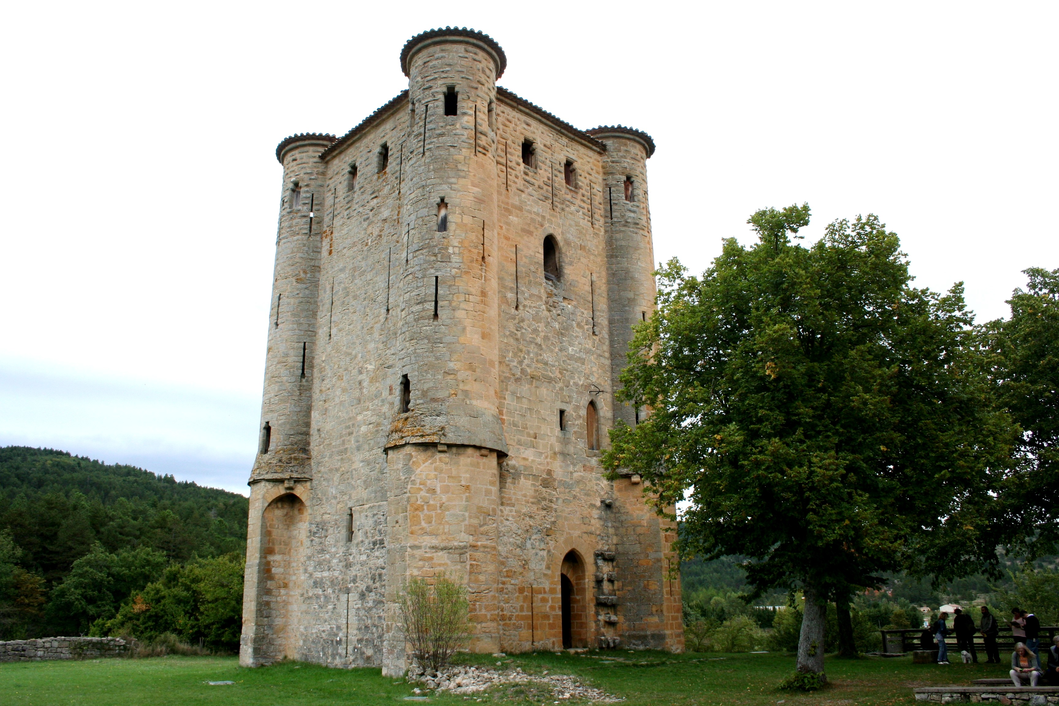 Chateau d'Arques Tower