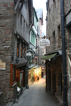 Medieval Town Inside Walls