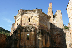 Alet les Bains Abbey Ruins