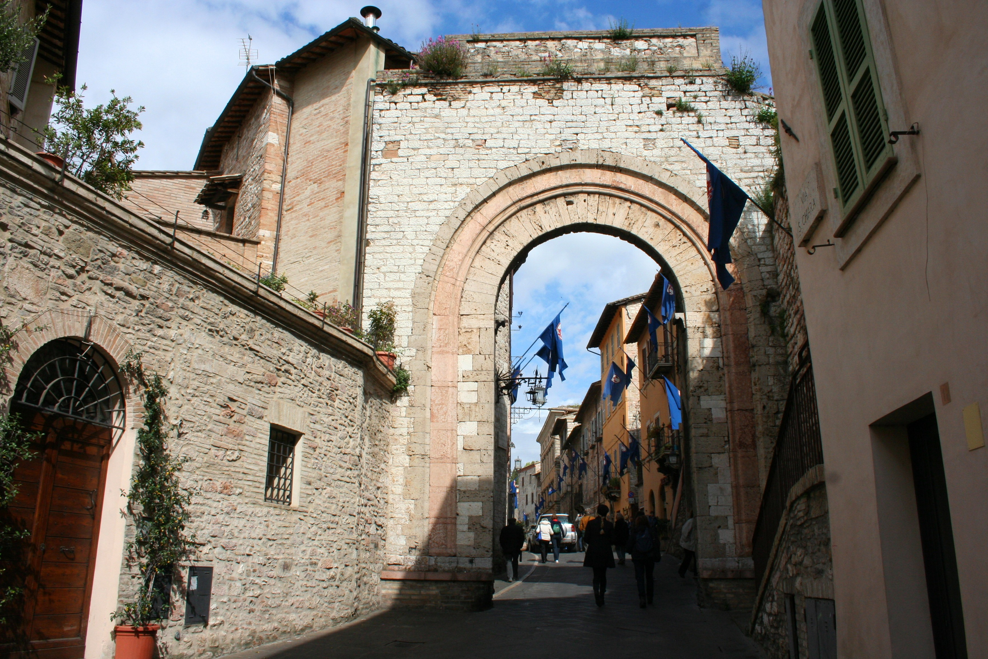 Entrance to Assisi