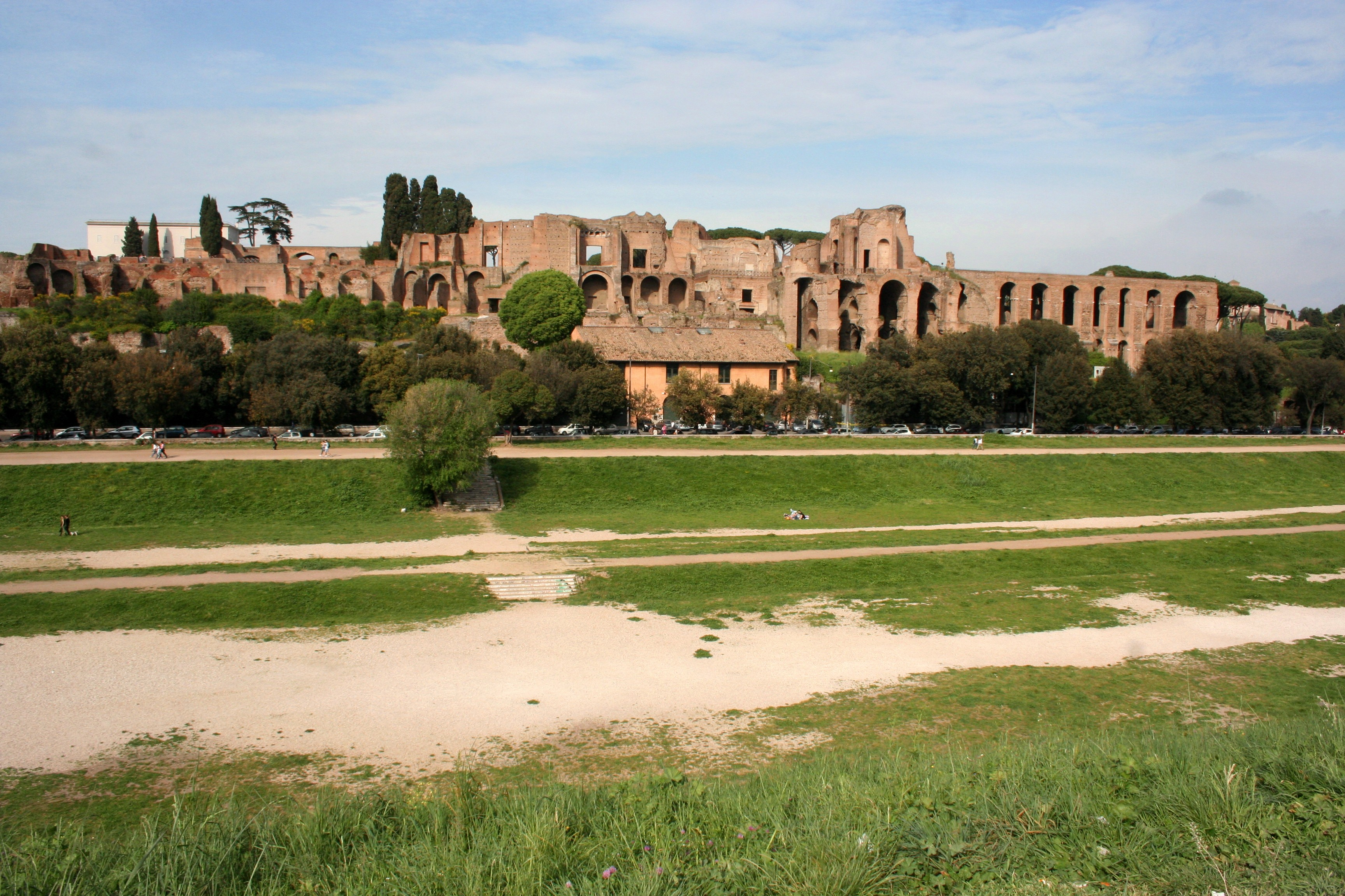 Palatine Hill & Circus Maximus