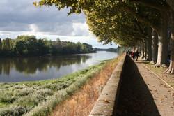 Vienne River in Chinon