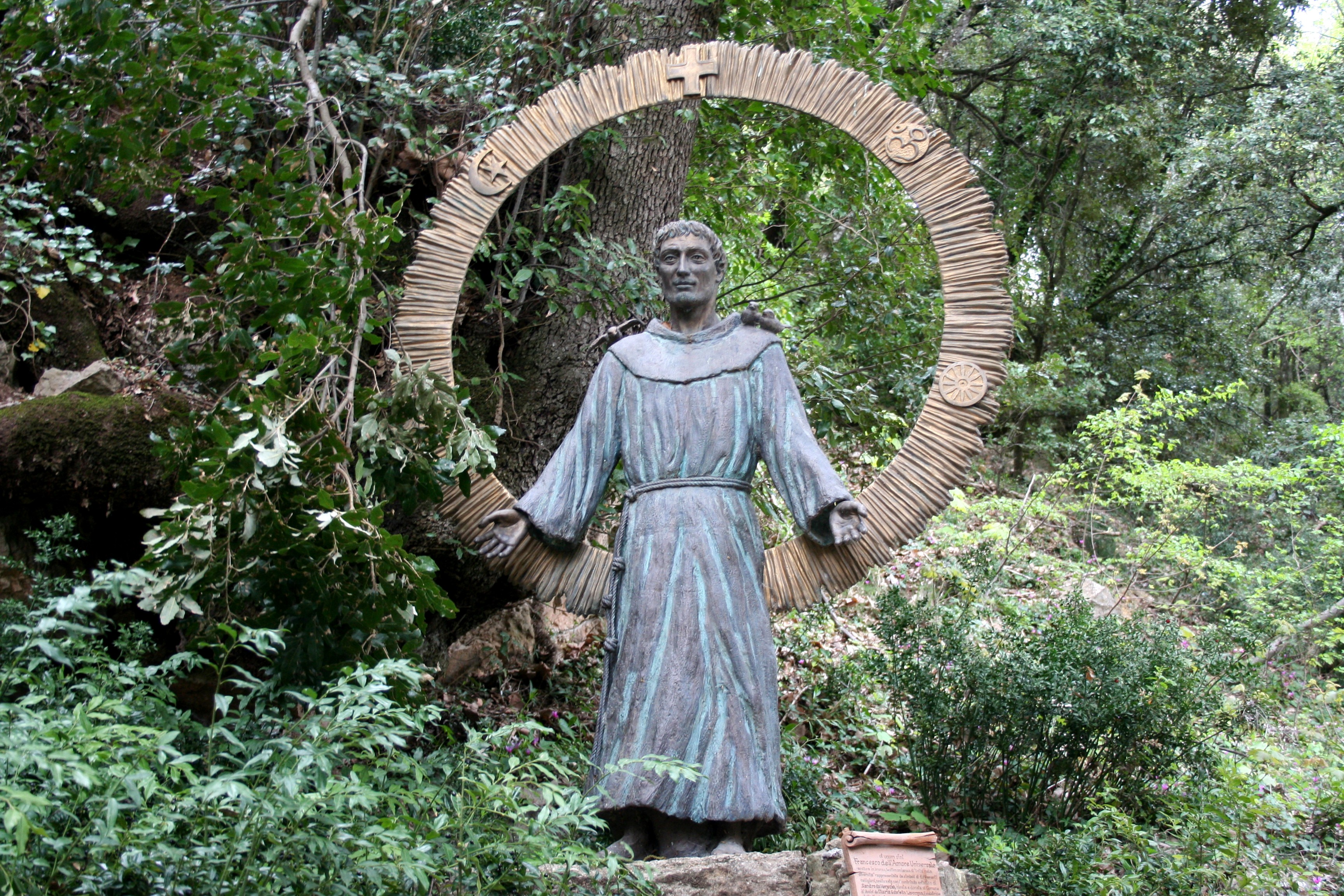 St Francis Statue