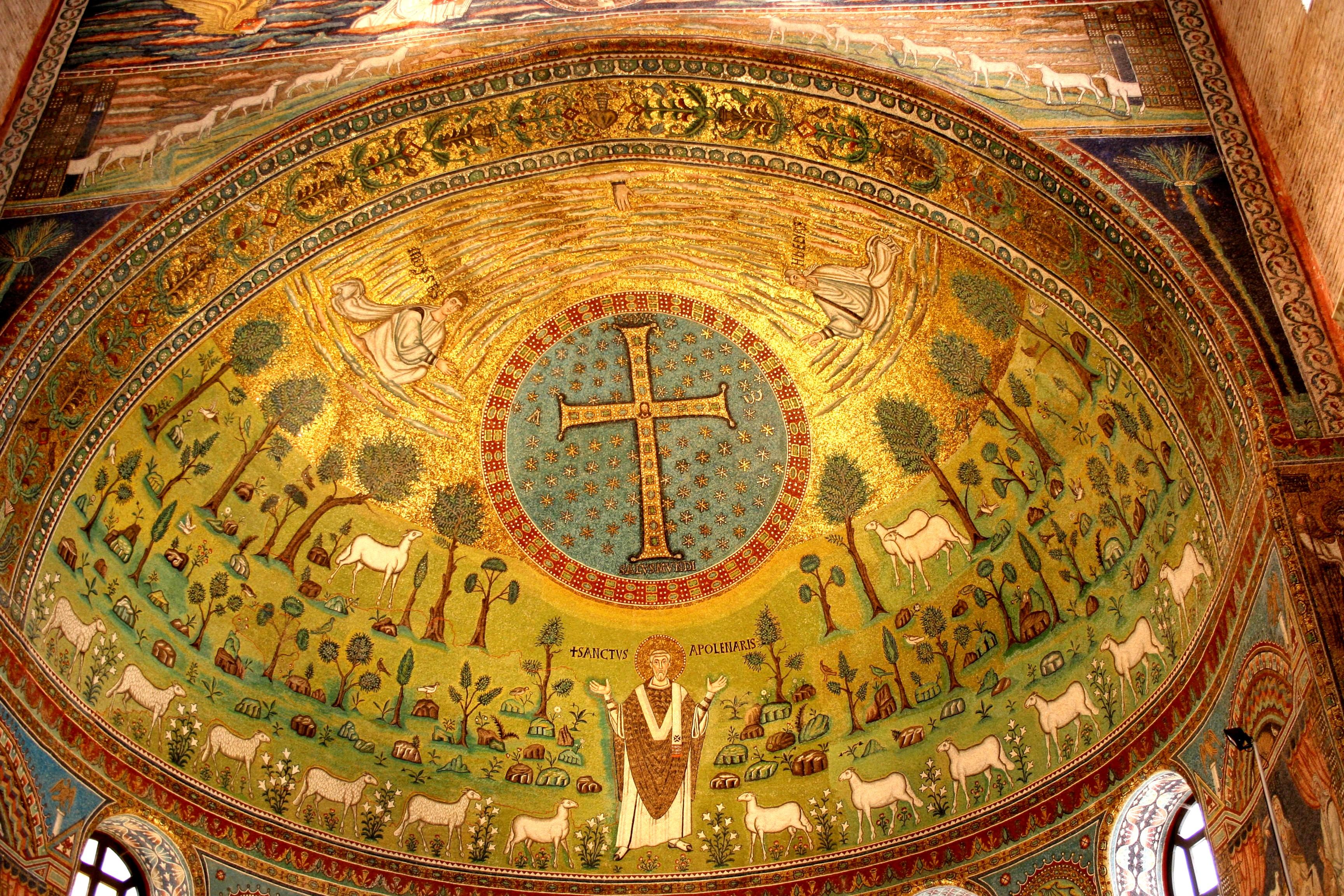 Sant Apollinare Altar Ceiling
