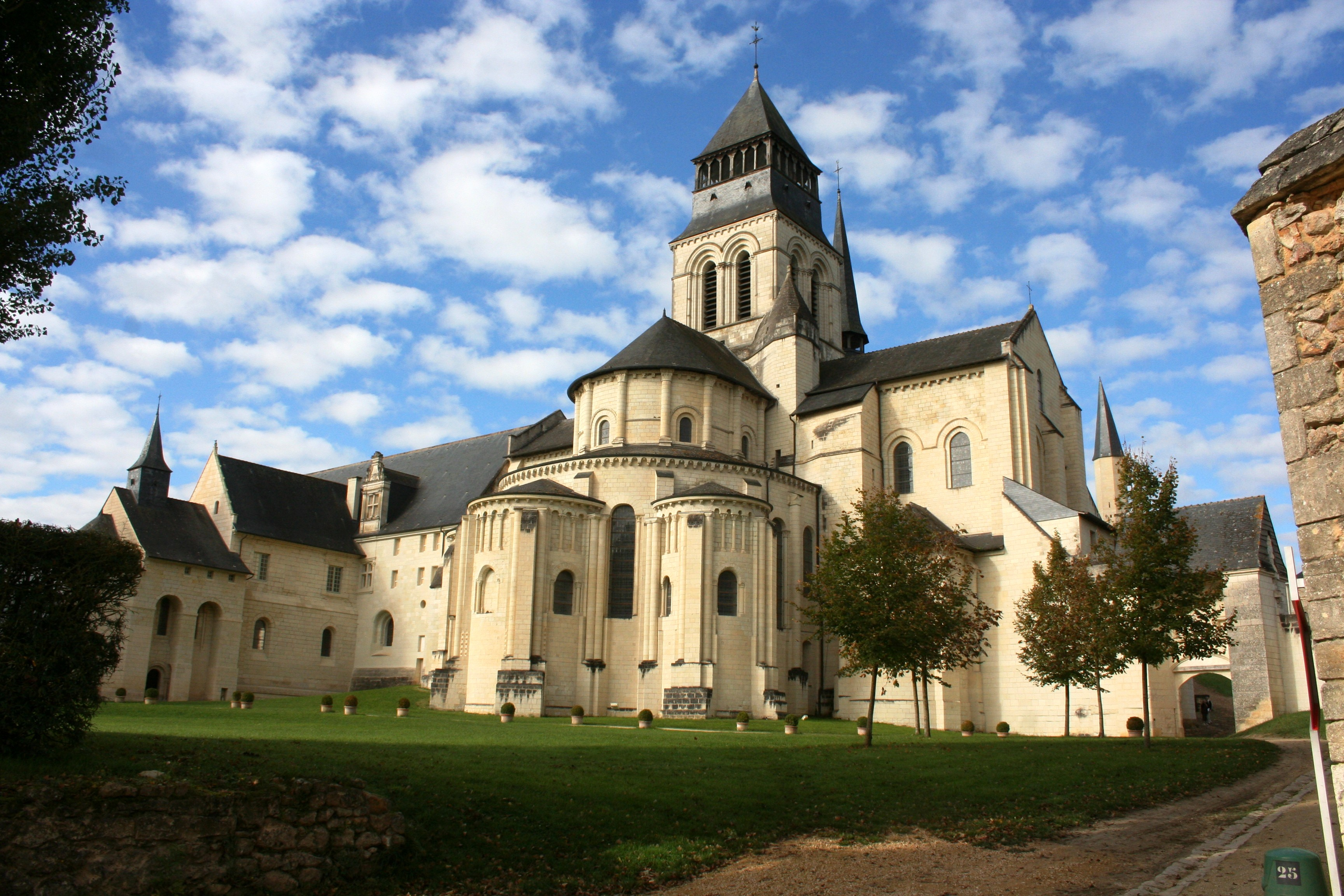 Back of Fontevraud