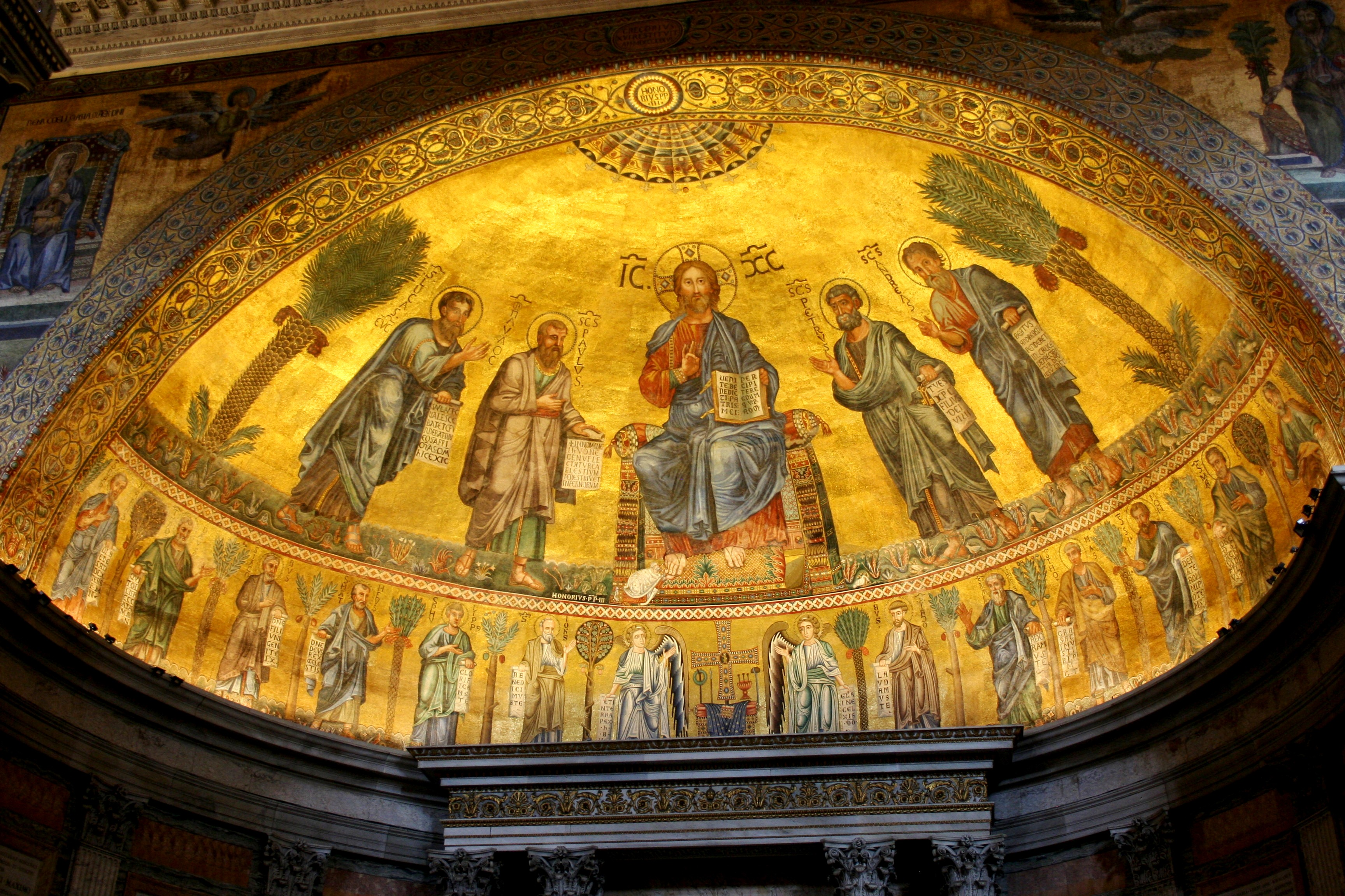 St Paul Altar Ceiling