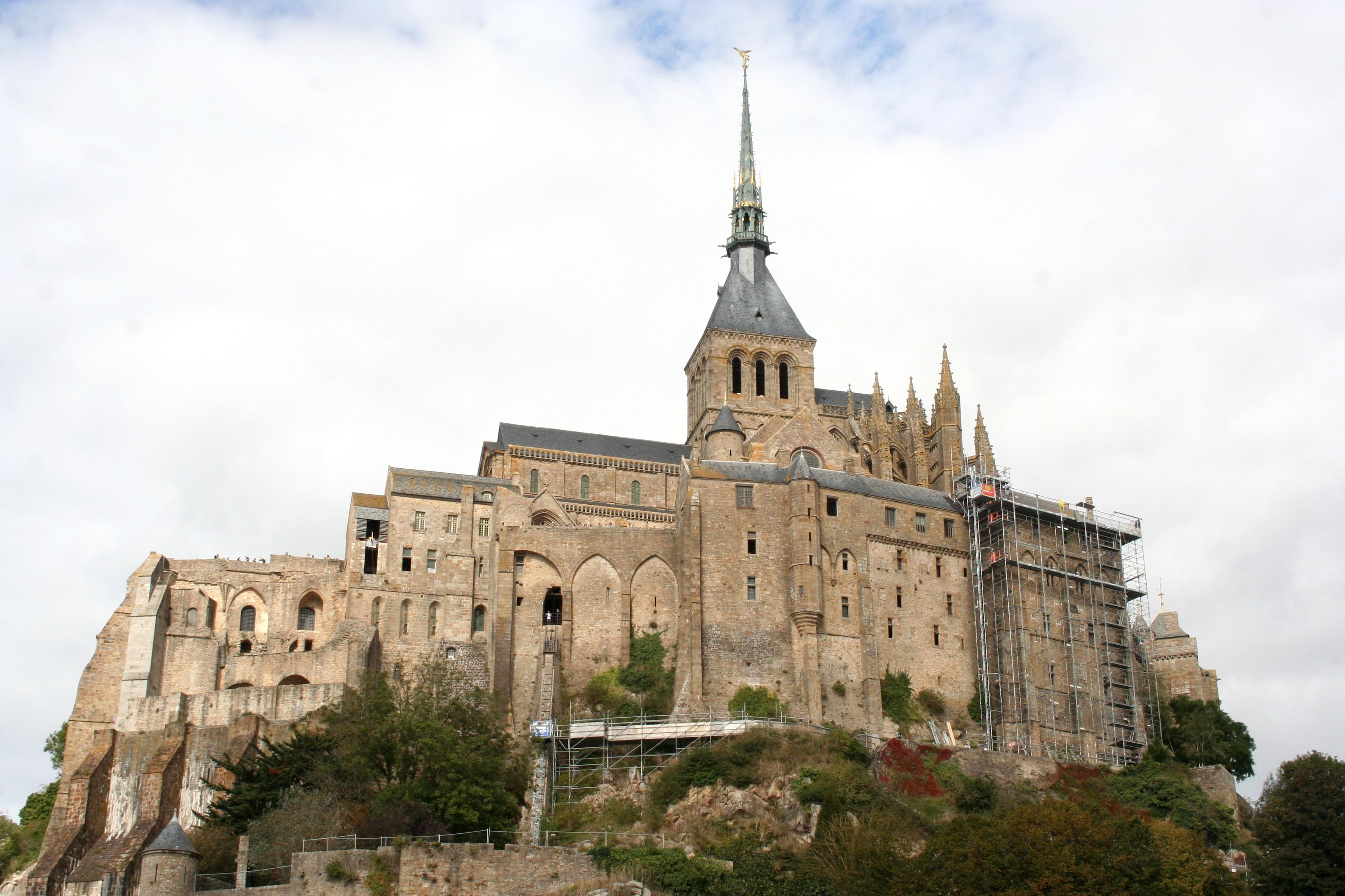 Top of Mont St Michel