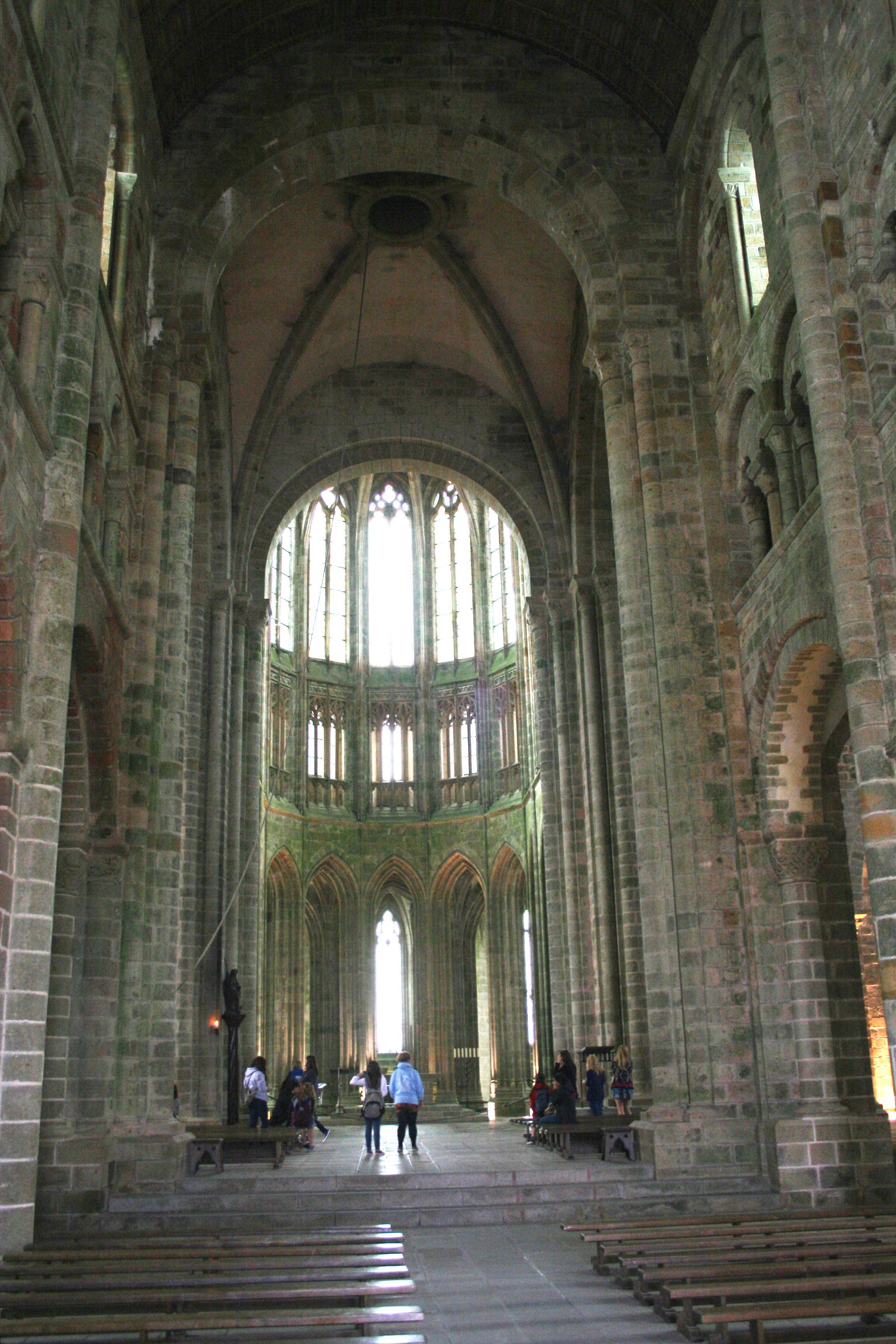 Mont St Michel Abbey