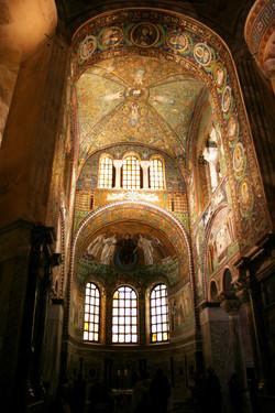 Mosaic Altar of St Vitale