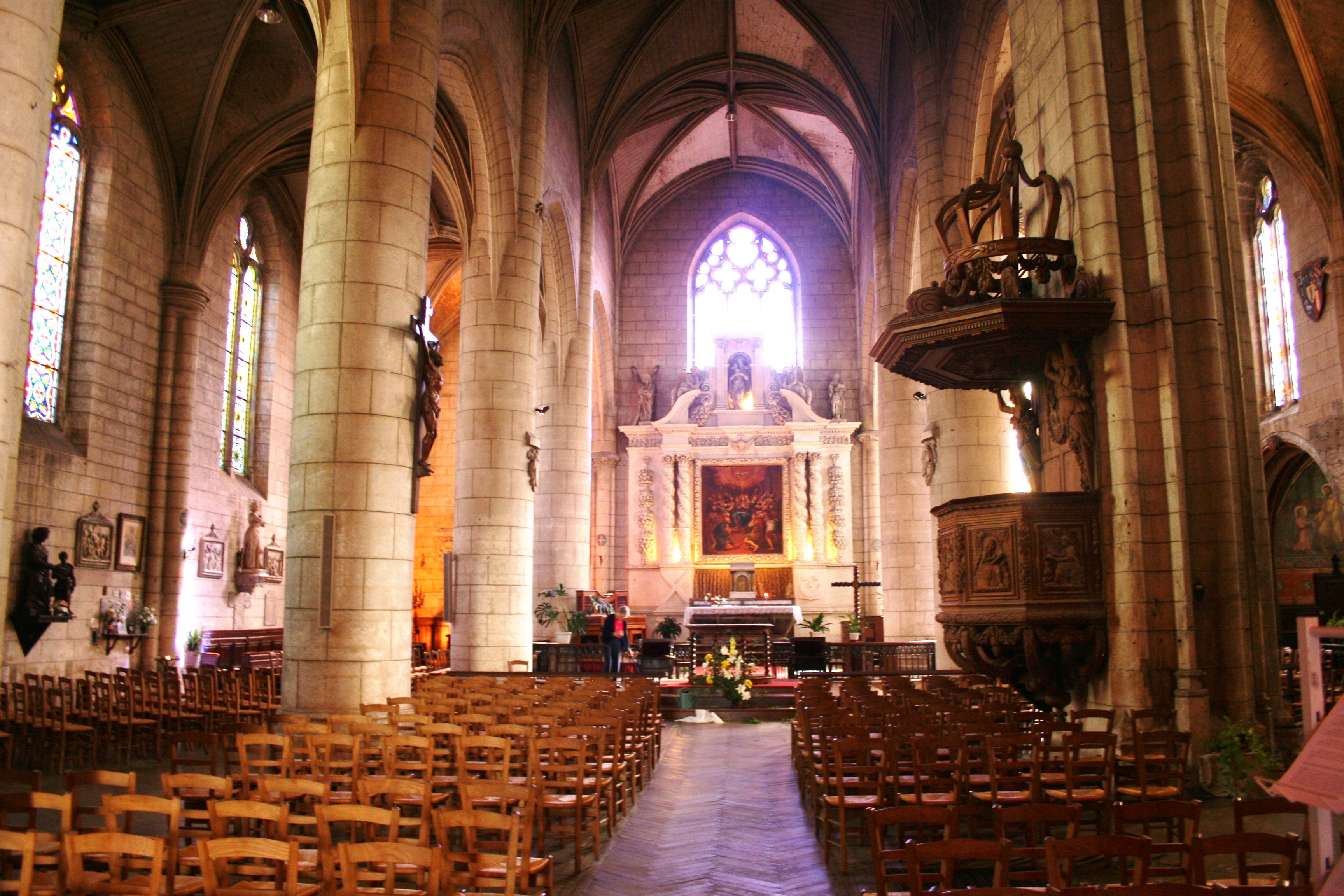 Church of St Andre Interior