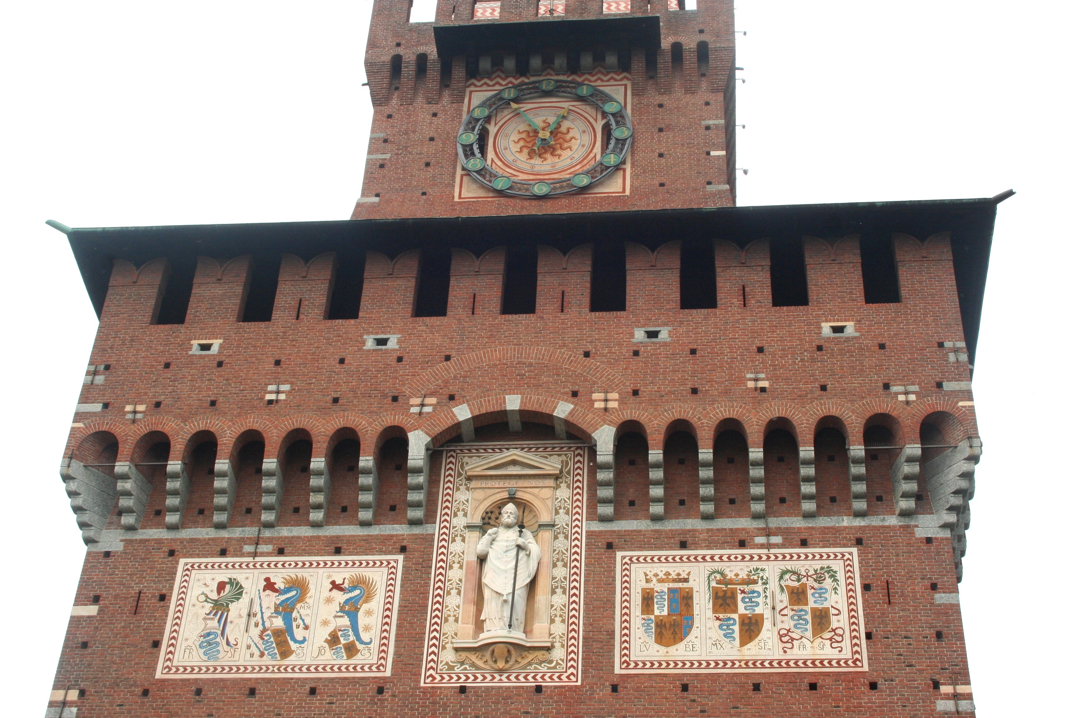 Castello Sforzesco Front Tower